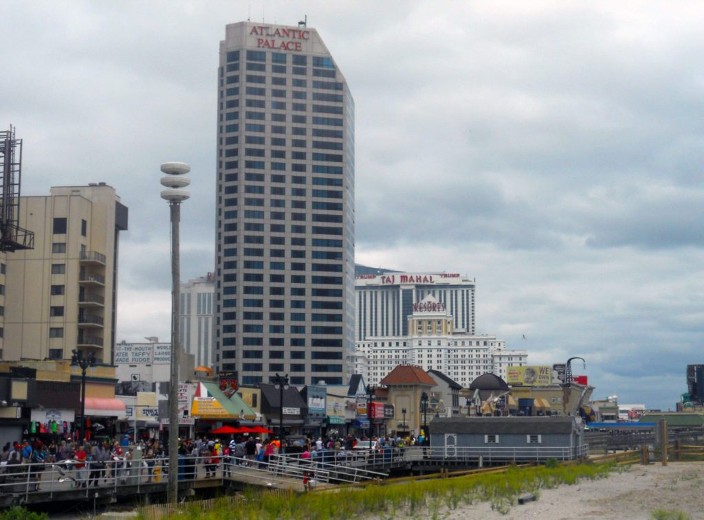 Four Atlantic City, NJ casinos have closed this year. A fifth — the Trump Taj Mahal — could close in November.