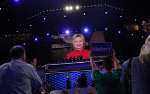 Hillary Clinton, Democratic National Covention