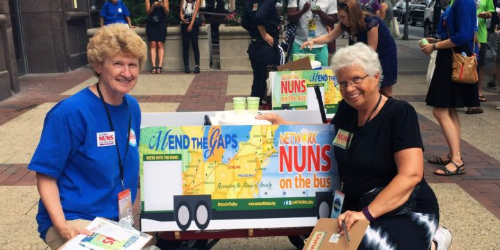 Iowa nuns pledge to 'mend gaps'