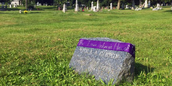 Viola Gibson's legacy lives through us
