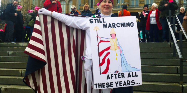 Middle-aged women (still) leading political activism