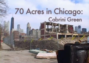 "Screen shot from the trailer of ""70 Acres in Chicago"" documentary."