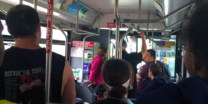 Transit blog, day two