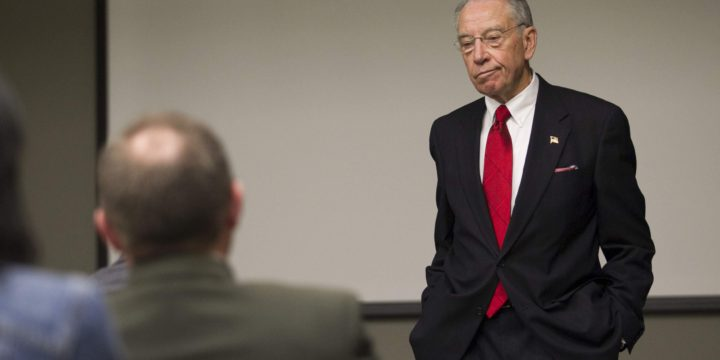 Grassley's gamble isn't paying off