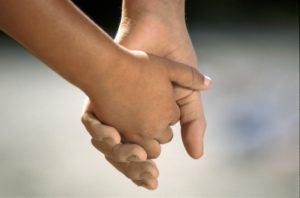 holding hands racism