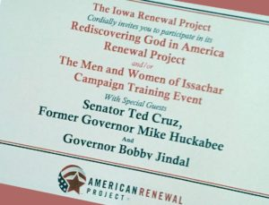 Iowa Renewal Project 2015