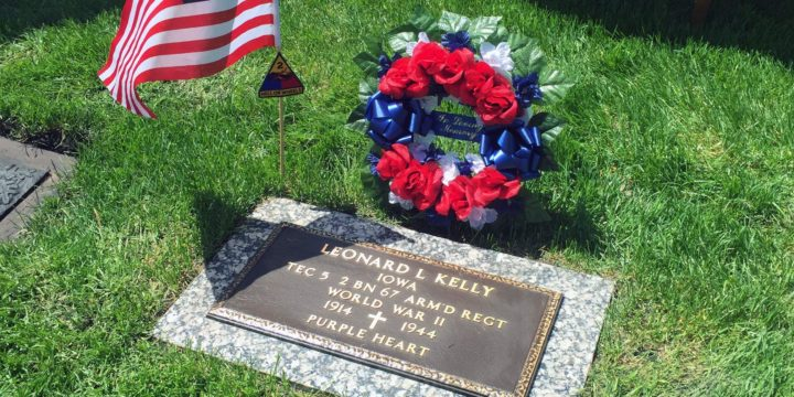 Community, family remembers Iowa WWII soldier