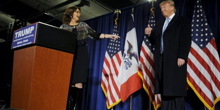 Sarah Palin embarrassed herself, again