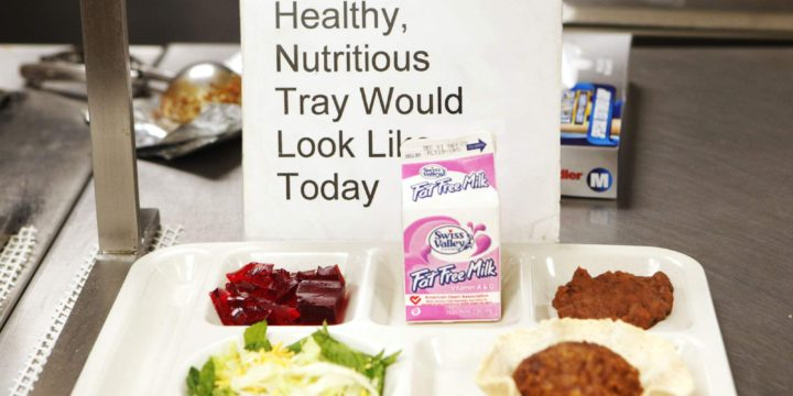 Congress takes aim at school lunch