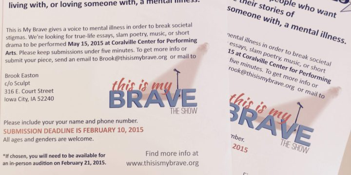 There's still time to be brave