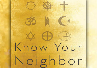 Education is aim of 'Know Your Neighbor' religion series