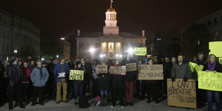 Protests are evidence of exclusion