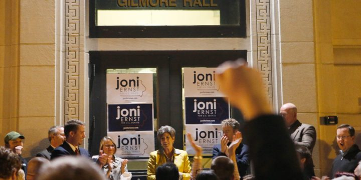 Questions piling up for Joni Ernst